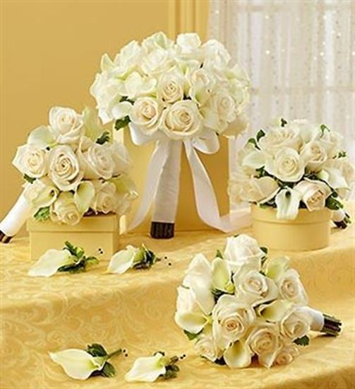 a green thing artisitic designs by bridal party personal package white. Black Bedroom Furniture Sets. Home Design Ideas
