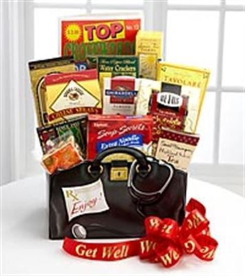 Picture of Get Well Soon Gift Basket